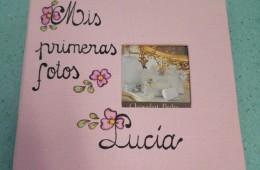 Álbum de fotos niña.