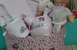Canastillas personalizadas para regalo de bebé (a tu gusto).