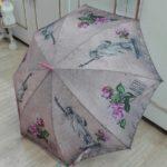 Paraguas bastón automático de Perletti. (Decoración New York vintage)