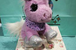 Peluche de unicornio Stella de la colección Snukis.