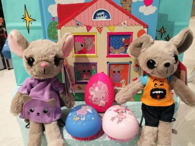 Peluche niño o niña ratoncitos de The house of Mouse.