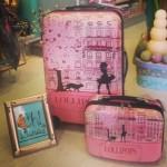 Preciosas maletas de diferentes marcas.
