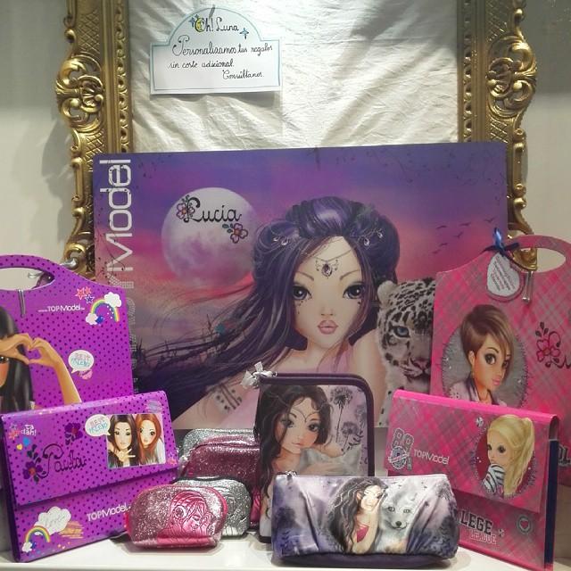Los regalos de Top Model más chulos personalizados con el nombre en Oh! Luna Valladolid.