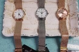 Reloj correa de maya de acero. Nowley.