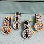 Relojes con ilustraciones. (Motivos vintage).