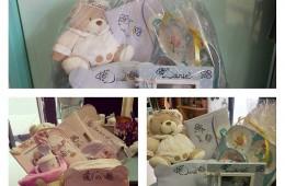 Canastillas de bebé a vuestro gusto y personalizadas.