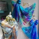 Fulares de seda 100%, hechos y teñidos artesanalmente.