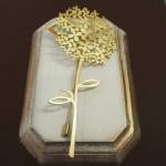 Agujón hortensia. Diseñado y fabricado en España artesanalmente.