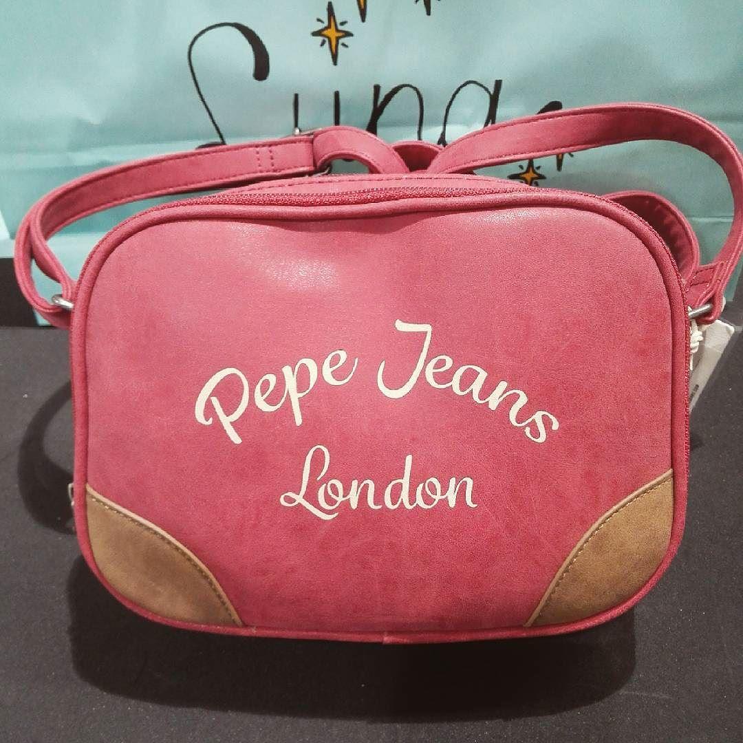 4be8da0f Bandolera en color coral de Pepe Jeans London. - Oh!Luna