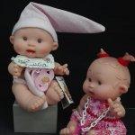 Muñecos Pepotes con nombre y olor.