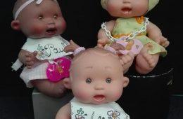 Muñecos pepotes con olor. Se personalizan con el nombre.