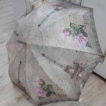 Paraguas automático de bastón de Perletti. (decoración vintage París).