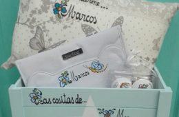 Canastilla de bebé (personalizada a vuestro gusto).