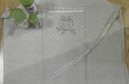 Mandil de algodón personalizado.