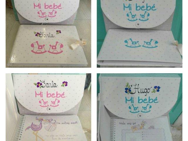 Libro del bebé personalizado.