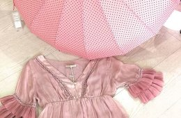 Blusa romántica seda. (Talla única 38-42).