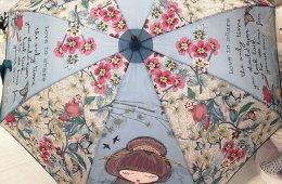 """Paraguas """"Anekke japonesa"""". En bastón, plegable y plegable automático."""