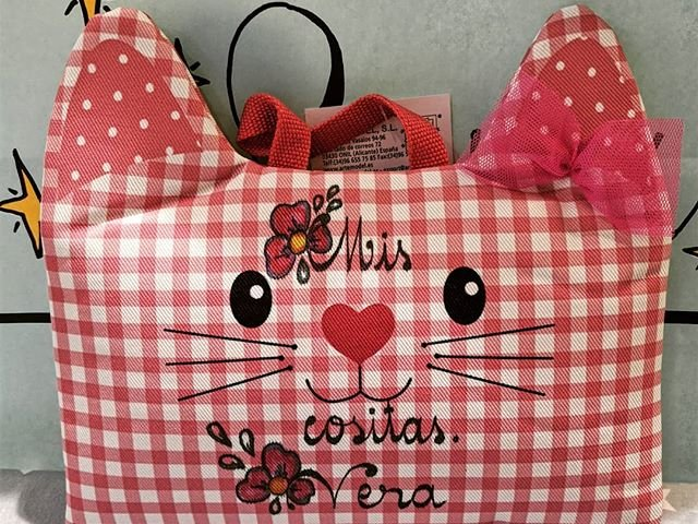 Neceser vichy gatito rosa